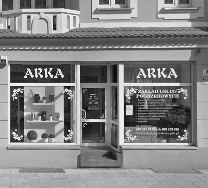 Zakład pogrzebowy Arka Piła